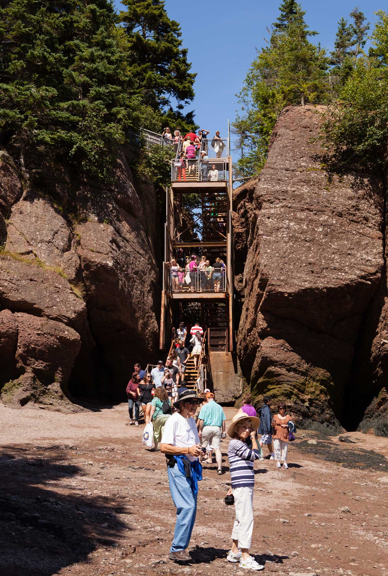 Hopewell Rocks, New Brunswick, Canada | Travel Photography